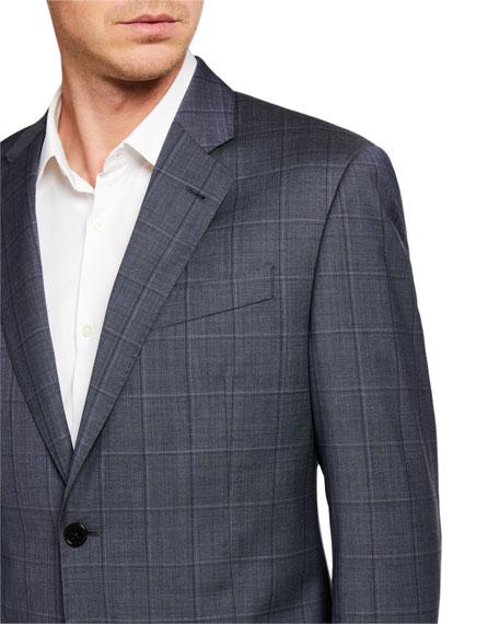 Emporio Armani Men's G Line Windowpane Two-Piece Suit