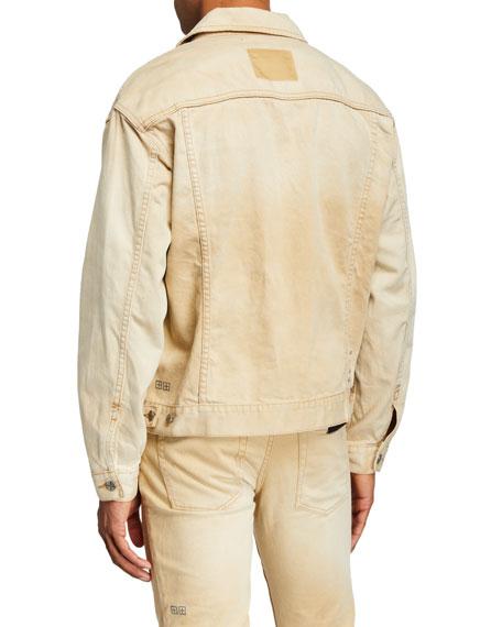 Ksubi Men's Oh G Distressed Denim Jacket