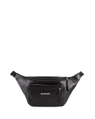 Men's Explorer Lambskin Belt Bag