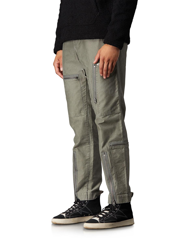Ovadia & Sons Men's Multi-Zip Flight Pants