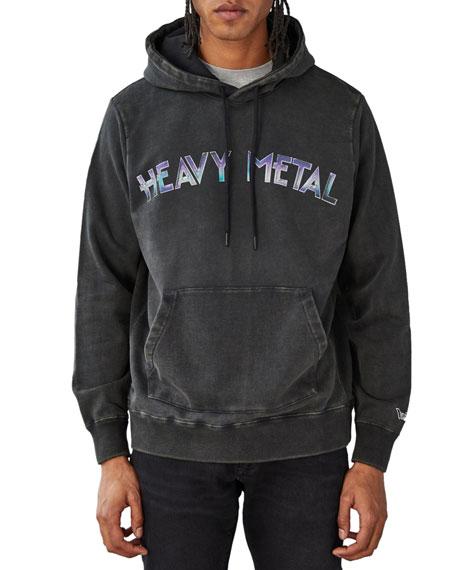 Ovadia Men's Heavy Metal Graphic Pullover Hoodie