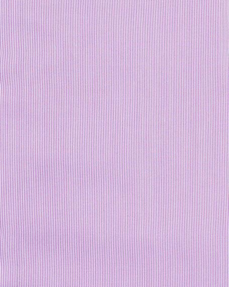 Giorgio Armani Men's Micro-Stripe Cotton Dress Shirt