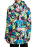 Balenciaga Men's Paris By Night Brushed Fleece Oversized Hoodie Sweatshirt