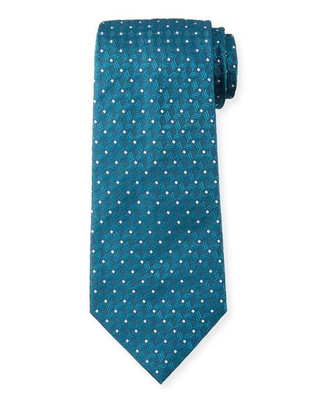 Emporio Armani Retro Patterned Tie