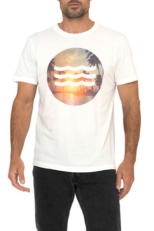 Sol Angeles Men's Sunset Graphic T-Shirt