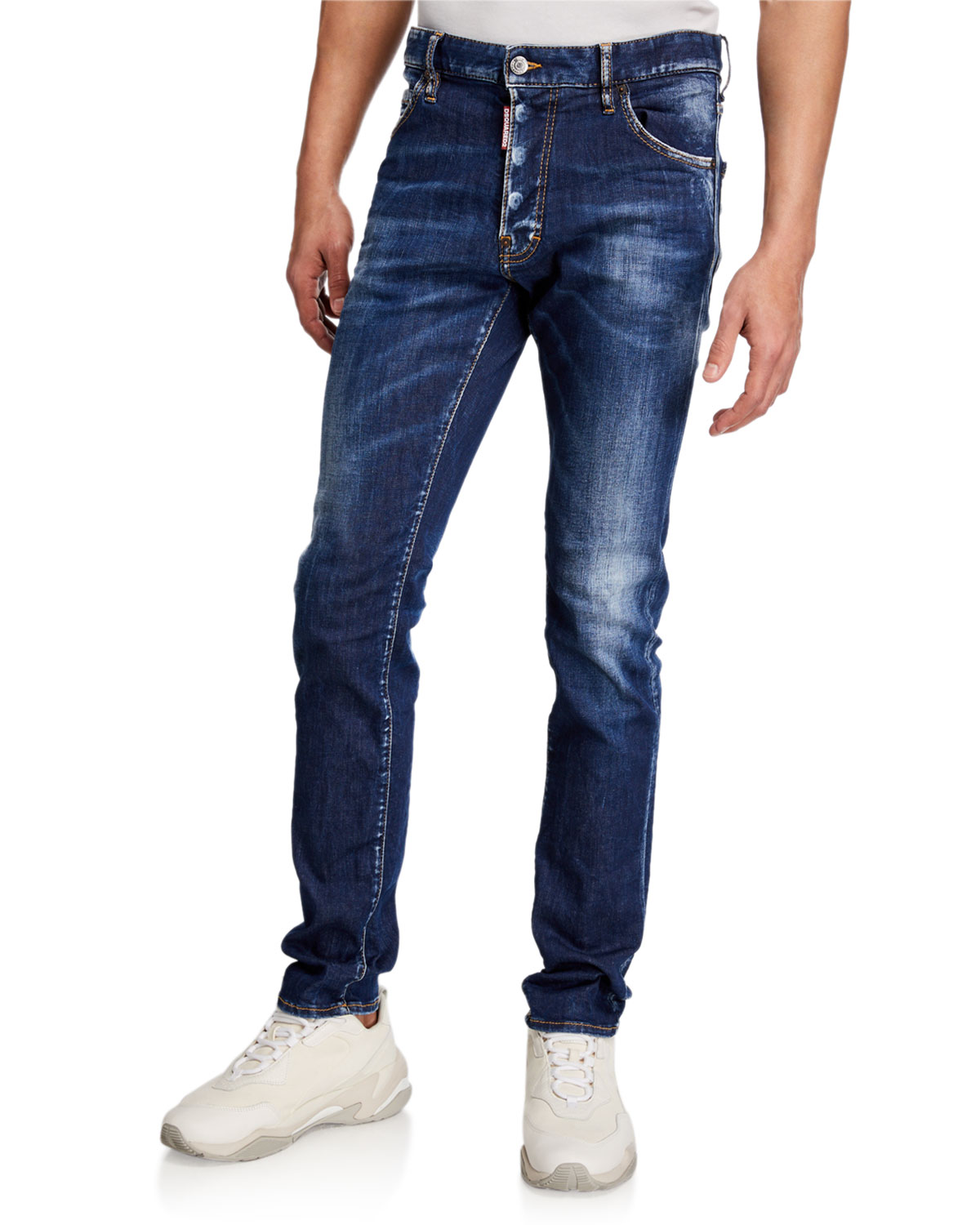 Dsquared2 Men's Cool Guy Dark-Wash Button-Fly Jeans
