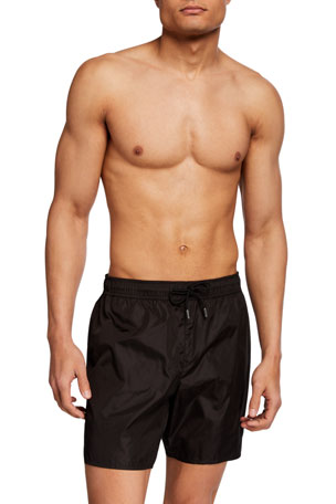 Moncler Men's Matte Swim Trunks