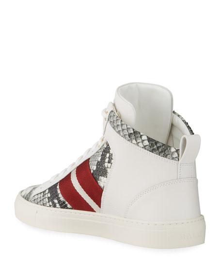 Bally Men's Hedern High-Top Sneakers