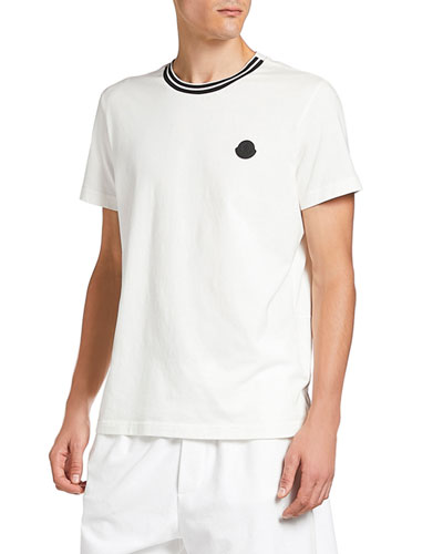 Men's Front Tipping Crewneck T-Shirt