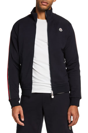 Moncler Men's Zip-Front Sweat Jacket