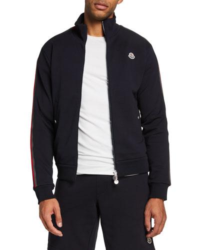 Men's Zip-Front Sweat Jacket