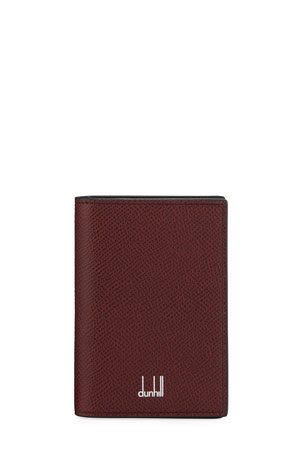 dunhill Men's Cadogan Two-Tone Leather Card Case
