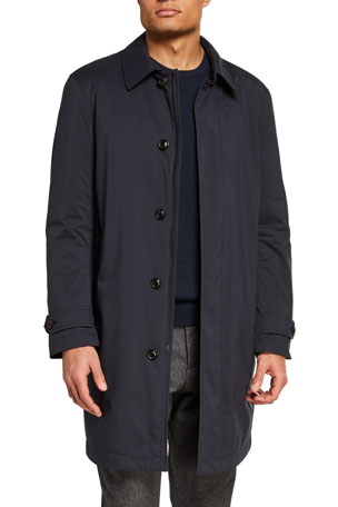 Moncler Men's Kergolo Simple Raincoat