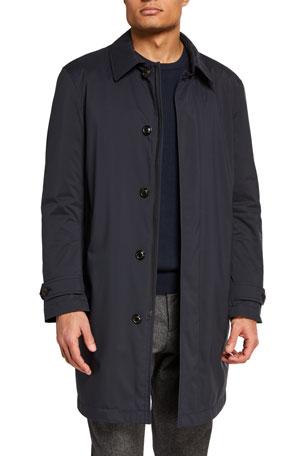 Moncler Men's Kergolo Simple Raincoat