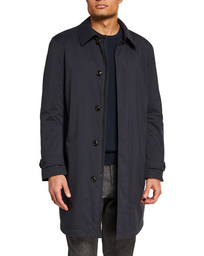 Men's Kergolo Simple Raincoat