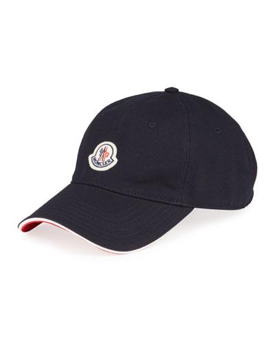 Men's Logo Baseball Cap w/ Flag Detail