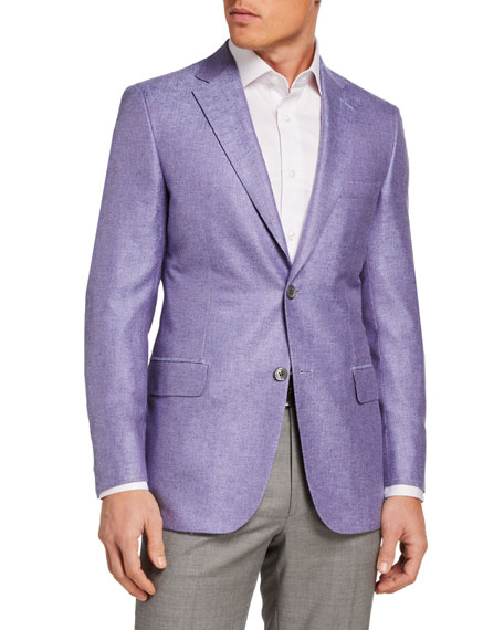 Image 1 of 3: Brioni Men's Textured Two-Button Jacket