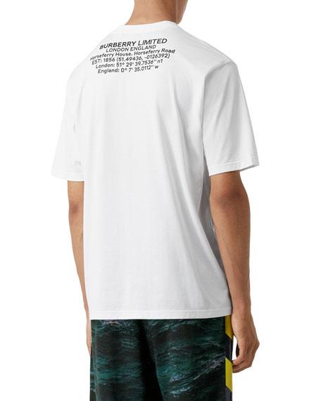 Burberry Men's Justin Logo-Print T-Shirt