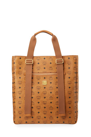 MCM Men's Klassik Visetos Tote Bag