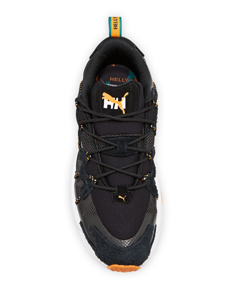 Image 2 of 4: Puma Men's x Helly Hansen LQD Cell Omega Trainer Sneakers