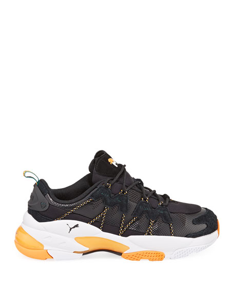 Image 3 of 4: Puma Men's x Helly Hansen LQD Cell Omega Trainer Sneakers