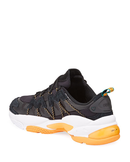 Image 4 of 4: Puma Men's x Helly Hansen LQD Cell Omega Trainer Sneakers