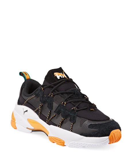 Image 1 of 4: Puma Men's x Helly Hansen LQD Cell Omega Trainer Sneakers