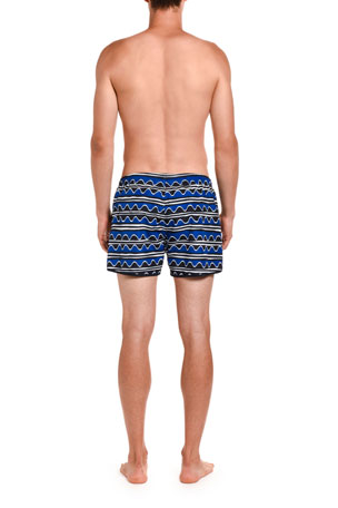 FullBo Starfish and Sea Shells Little Boys Short Swim Trunks Quick Dry Beach Shorts