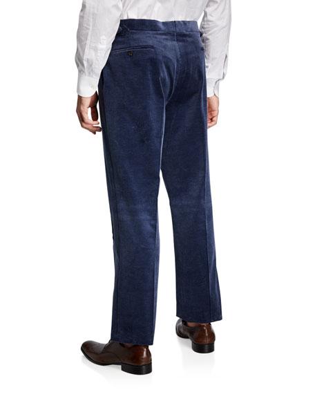 Ralph Lauren Purple Label Men's Corduroy Straight-Leg Pants