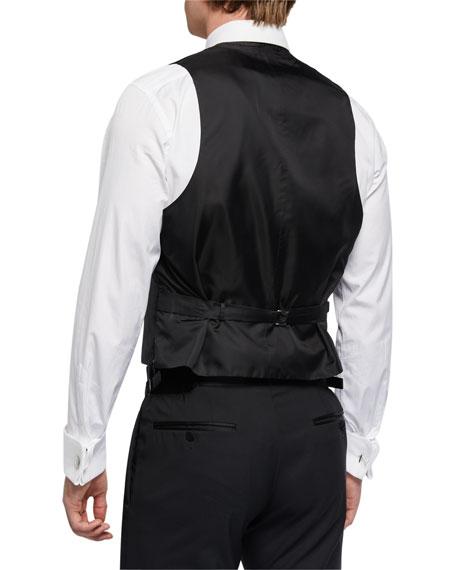Ralph Lauren Purple Label Men's Fancy Shawl-Collar Vest