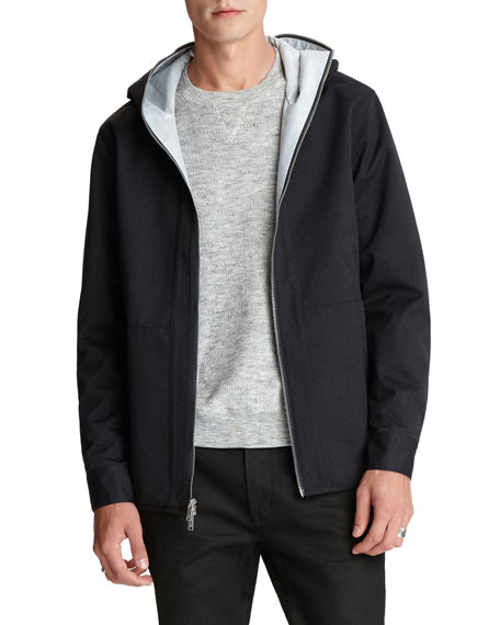 Image 1 of 3: John Varvatos Star USA Men's George Solid Water-Repellant Jacket