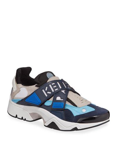 Men's New Sonic Grip-Strap Sneakers
