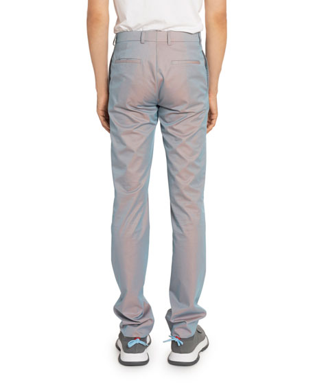 Givenchy Men's Relaxed Skinny-Fit Suiting Pants