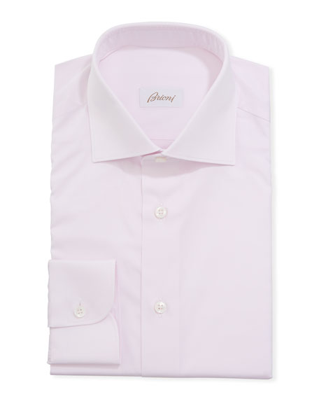 Image 1 of 2: Brioni Men's Solid Dress Shirt