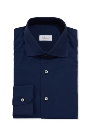 Brioni Men's Solid Dress Shirt