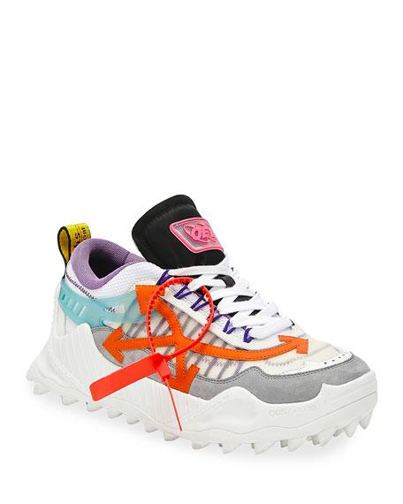 Off-White Men's Odsy-1000 Arrow Colorblock Sneakers