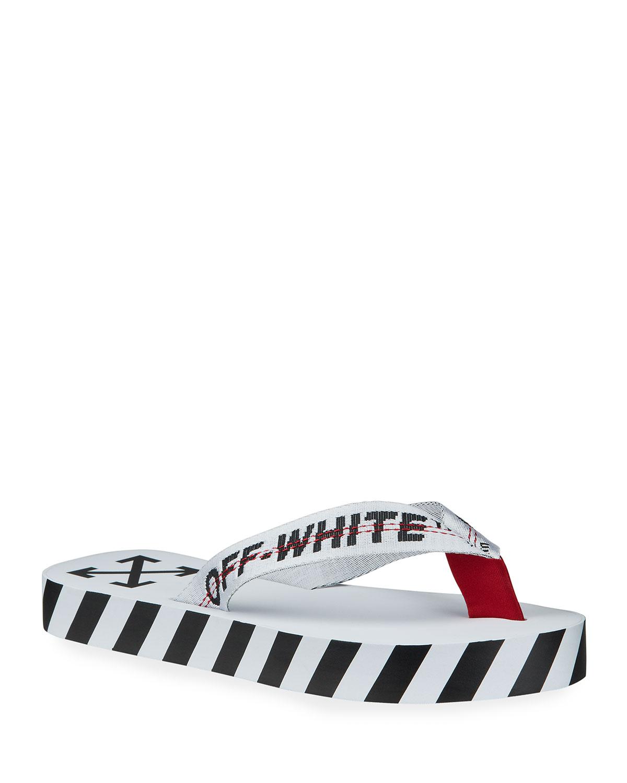 Off-White Men's Rubber Flip-Flops