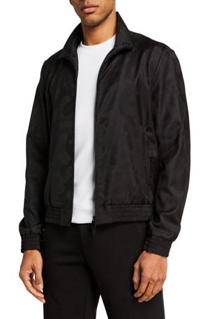 Emporio Armani Men's Tonal Camo Bomber Jacket