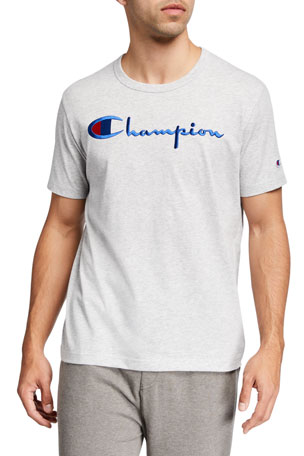 Champion Europe Men's Script Logo T-Shirt
