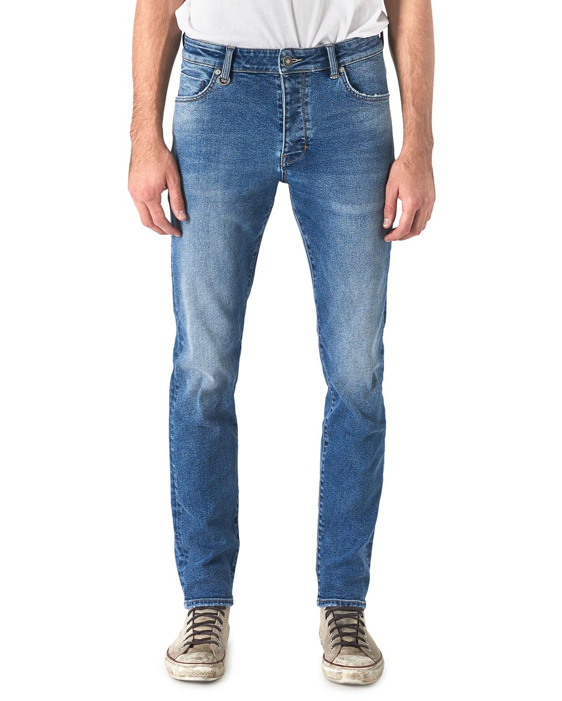Neuw Men's Lou Slim Polymer Blue Jeans