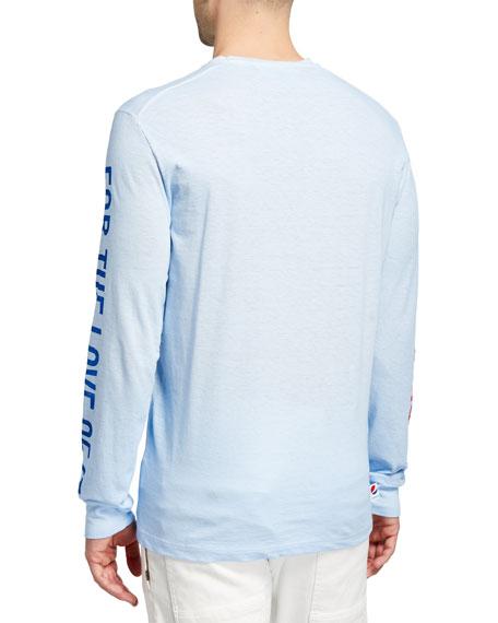 Dsquared2 Men's x Pepsi Maple Leaf Long-Sleeve T-Shirt