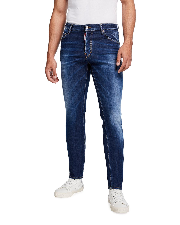 Dsquared2 Men's Cool Guy Dark-Wash Skinny Jeans