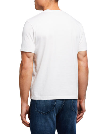 FRAME Men's Abstract Sunset Graphic Tee