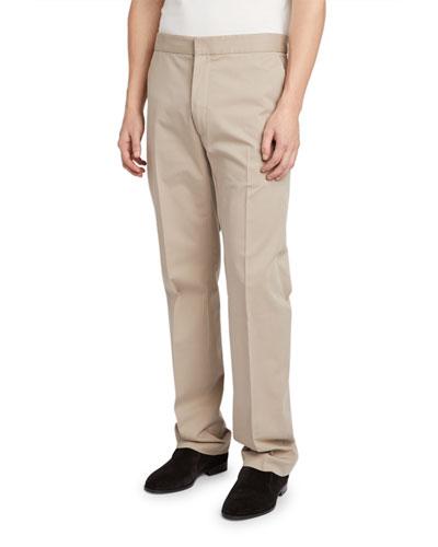 Men's Walker Flat-Front Pants