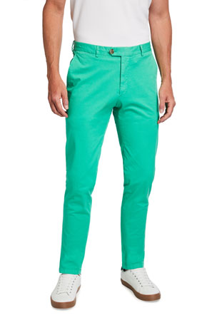 Ralph Lauren Purple Label Men's Eaton Classic Tapered Chino Pants