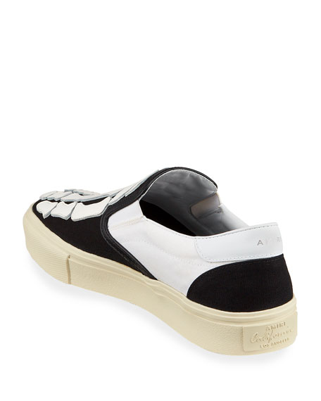 Amiri Men's Skeleton Slip-On Sneakers