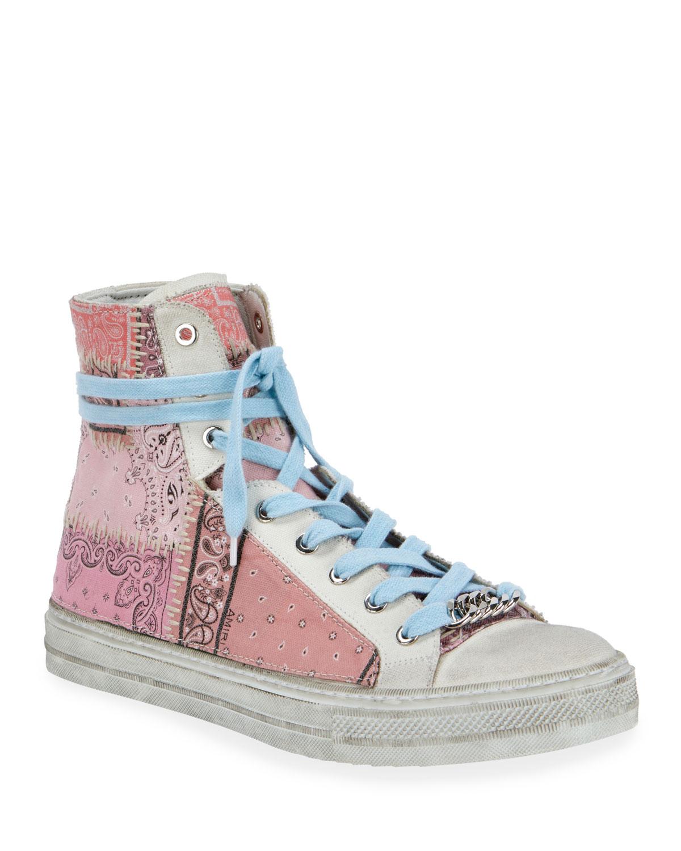 amiri bandana sneakers