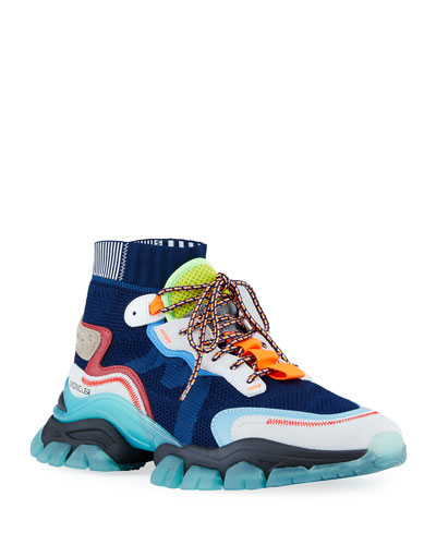Men's Leave No Trace High-Top Sock Sneakers