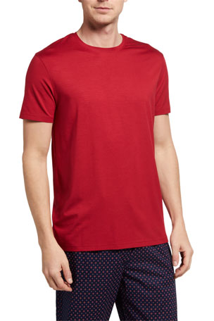 Derek Rose Men's Basel 8 Solid Jersey T-Shirt