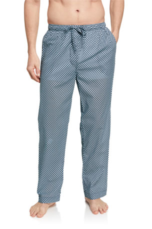 Derek Rose Men's Ledbury 31 Patterned Lounge Pants